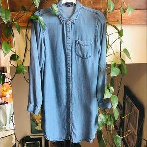 Denim Shirt/dress🤑2/15💄